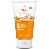 WELEDA - Детский шампунь-гель 2 в 1 (апельсин) 150 мл