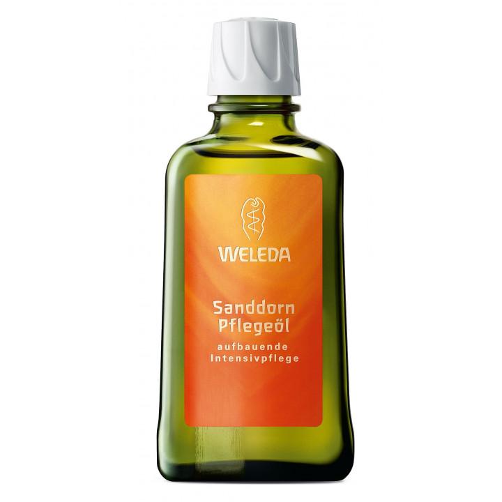 Органическое масло для массажа с облепихой Weleda 100 мл