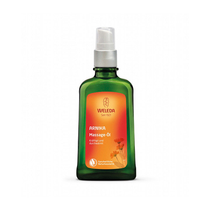 Органическое масло с Арникой для массажа Weleda 200 мл