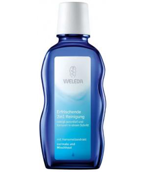 WELEDA - Очищающее cредство для лица 2 в 1, 100 мл