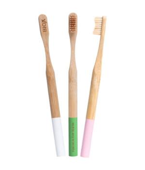 Бамбуковая зубная щетка BIOX (Биокс)