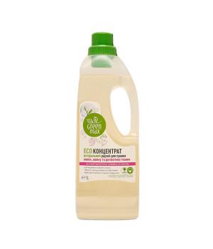 ECOконцентрат для стирки шерсти, шелка и деликатных тканей, 1 л (Green Max)