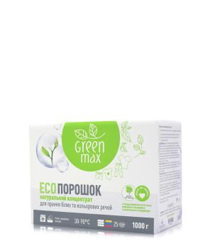 Натуральный порошок для стирки Green Max 1 кг