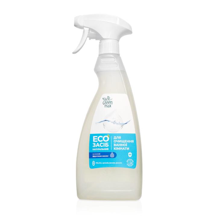 Натуральное жидкое средство для чистки ванны Green Max 500 мл