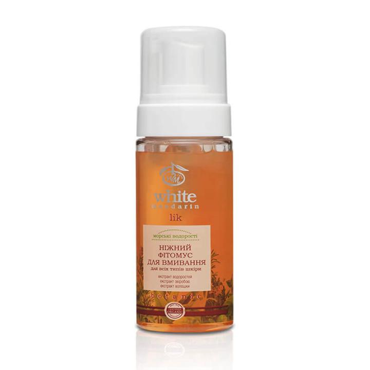 Фитомусс для умывания White Mandarin Морские водоросли для всех типов кожи 160 мл