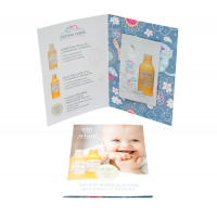 Пробник детское молочко для тела White Mandarin