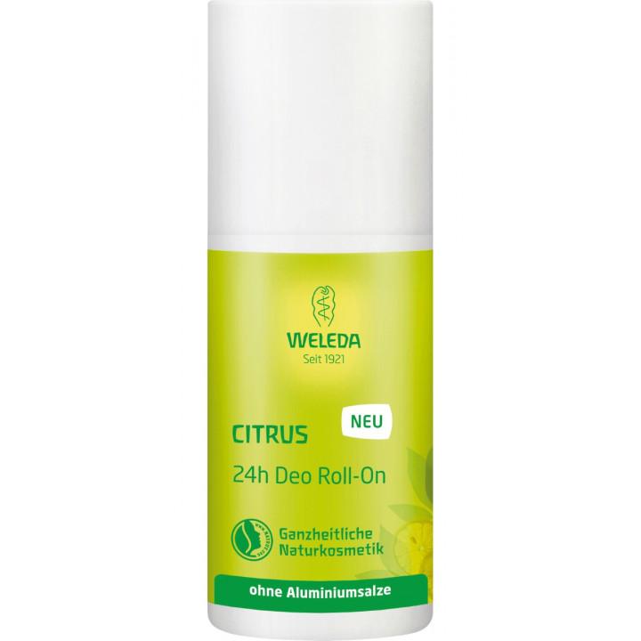 Органический цитрусовый дезодорант 24 часа Weleda 50 мл