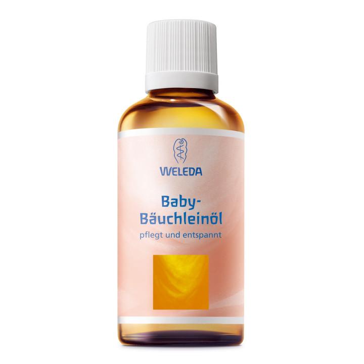 Органическое масло для массажа животика младенцев Weleda 50 мл