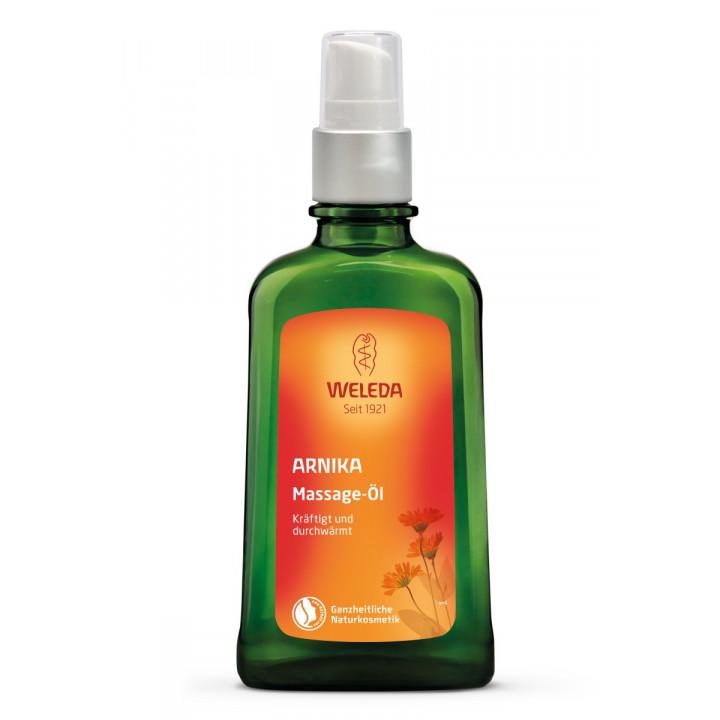 Органическое масло с Арникой для массажа Weleda 100 мл