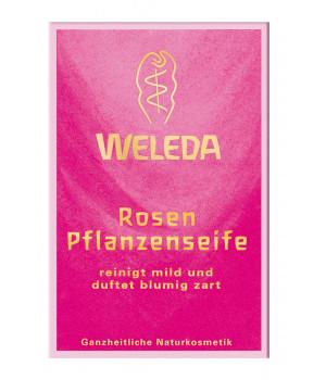 WELEDA - Твердое мыло (роза) 100 г