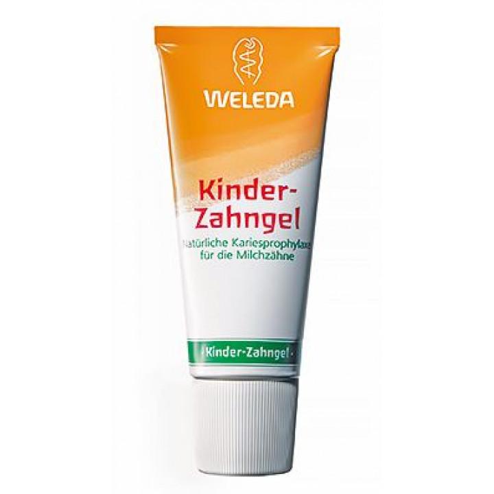 Натуральная зубная паста для детей Weleda 50 мл